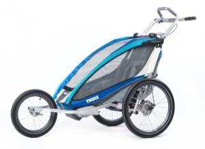 Jogger Kinderwagen zum Laufen Thule CX1 türkis
