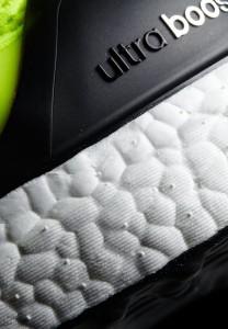 Adidas ultra boost Laufschuhsohle im Detail