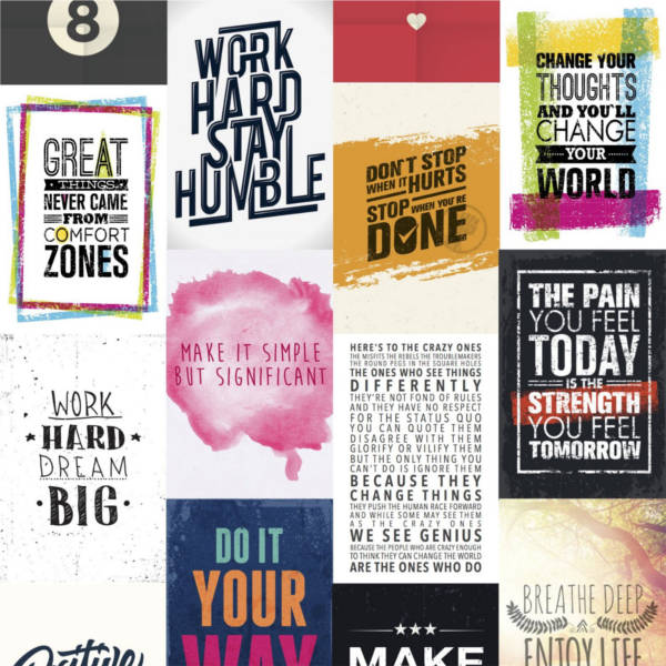 Motivationsbilder als Design Plakat kaufen
