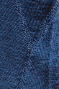 Dilling Merino T-Shirt Qualität Nähte Nahaufnahme
