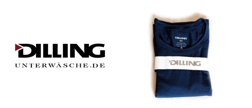 Dilling Unterwäsche Merino Shirt zum Laufen