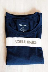 Dilling Unterwäsche exklusives Merino Shirt