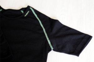 Woolpower Merino Shirt Ausschnitt und Ärmel