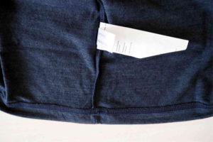 super.natural Merino Shirt Test Verarbeitung der Flachnaht