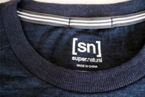 super.natural Merino Shirt Test Kragen