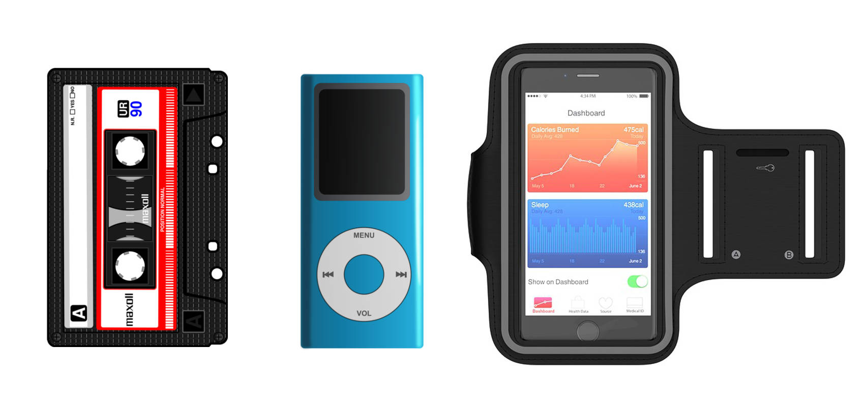 Portable Devices for running