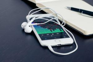 Sport - Musik auf dem Handy hören