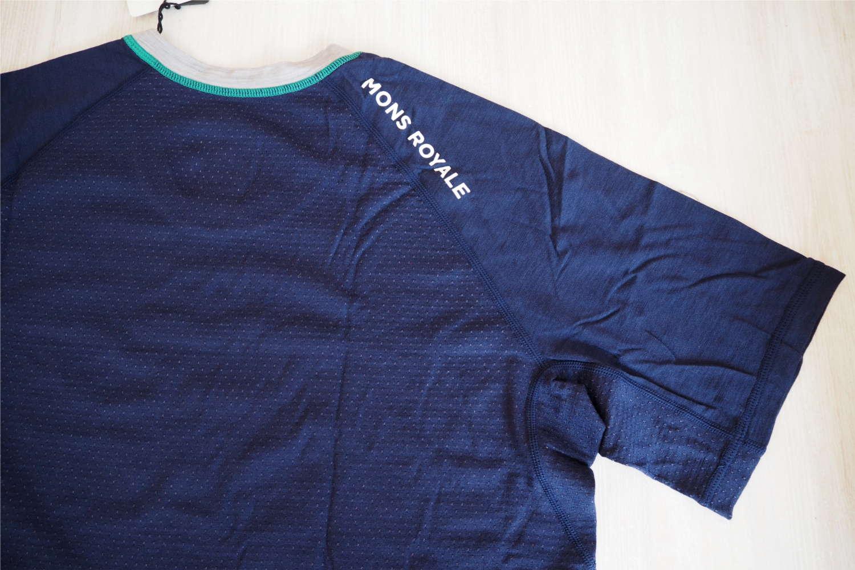 Mons Royale Test Merino Shirt, verlängertes Rückenteilö mit Merino Mesh