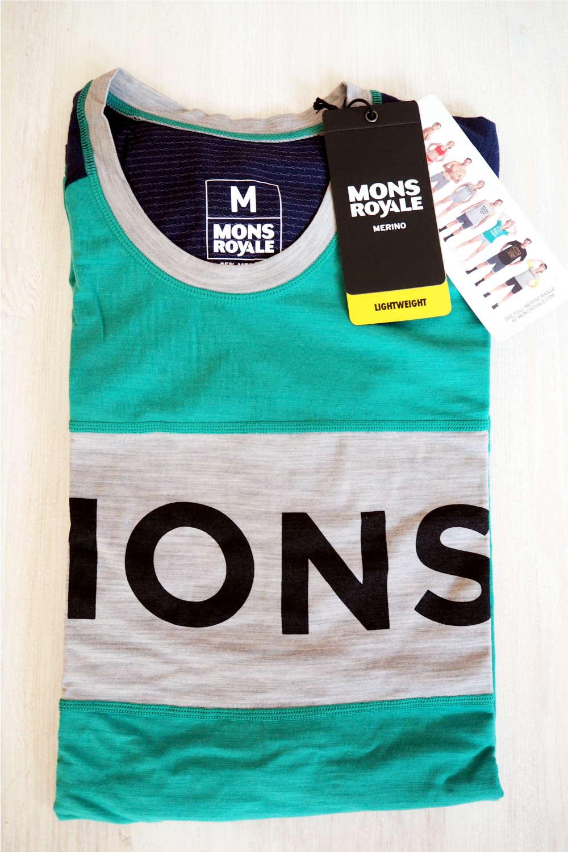 Test Merino Shirt von Mons Royale beim Laufen | der Jogger