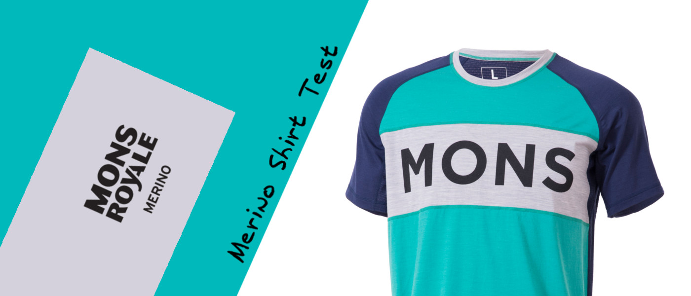 Mons Royale Test Merino Shirt Tech T