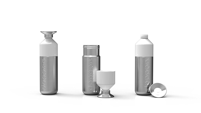 Trinkflasche für Sportler aus Edelstahl