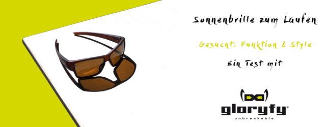Sonnenbrille zum Laufen - im Test gloryfy - Titelbild zum Test der Sportbrille