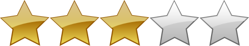 Sterne Bewertung, Punktevergabe, 3 Sterne, gute Bewertung
