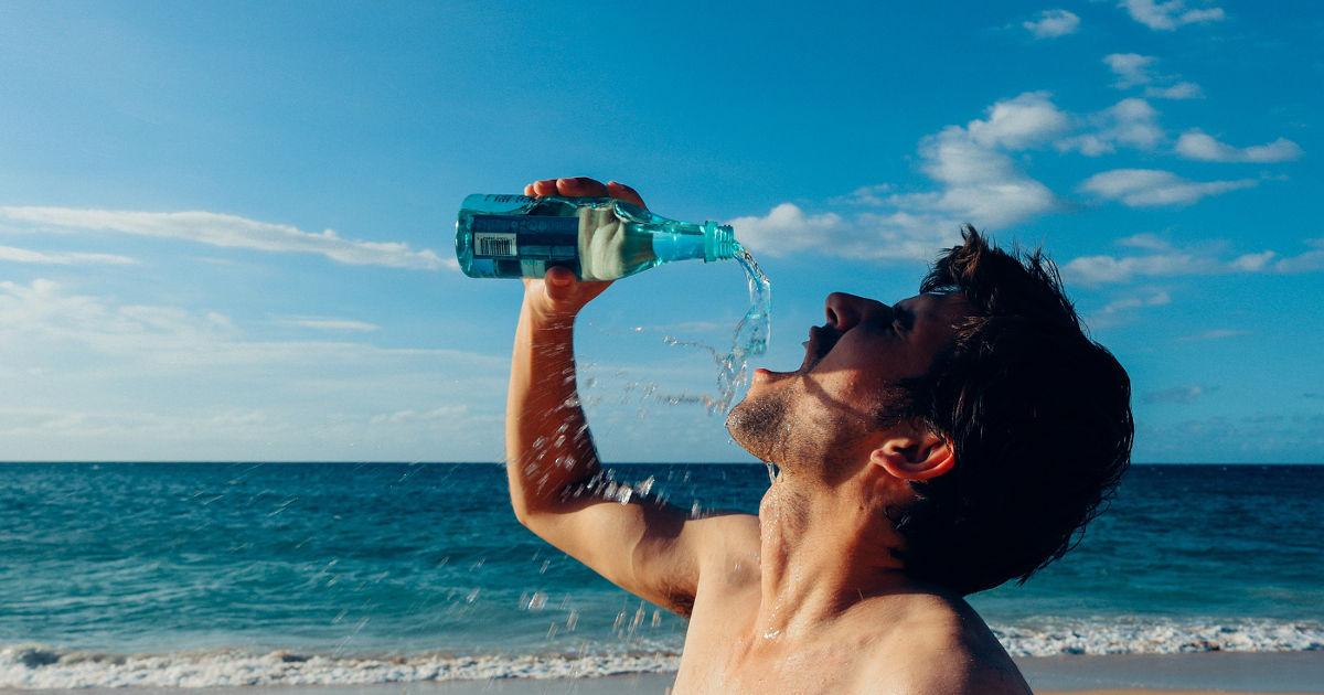 Laufen bei Hitze und ausreichend trinken