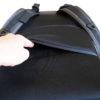 Rucksack Rückenbereich