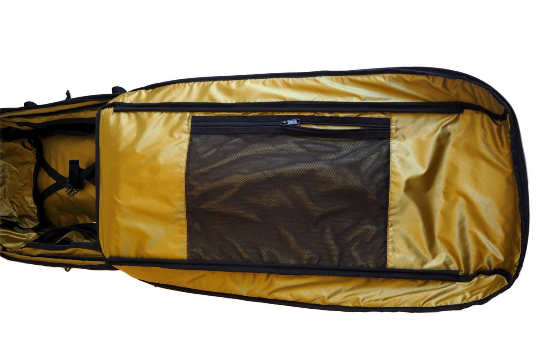 Flache Reißverschlusstasche für Hemden