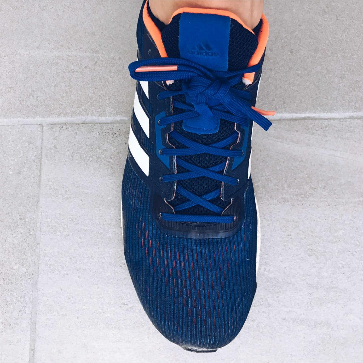 Philipp Pflieger Adidas Laufschuhe und Schnürung