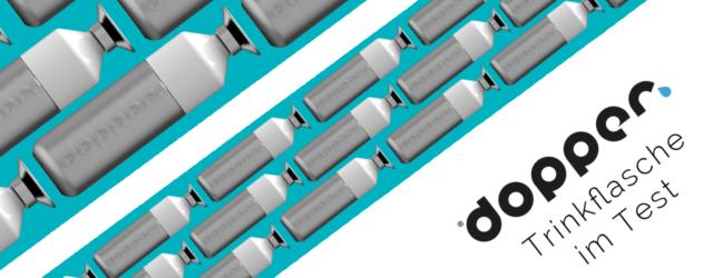 Test Edelstahl Trinkflasche Solid Steel von Dopper