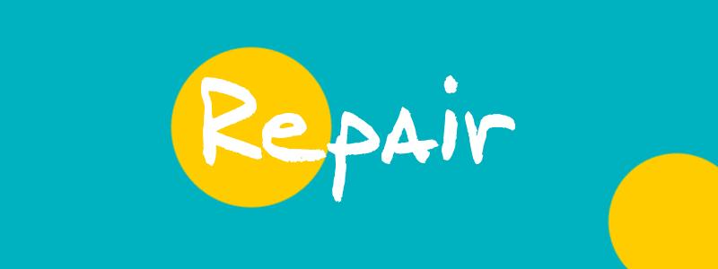 Reparierbare Bekleidung