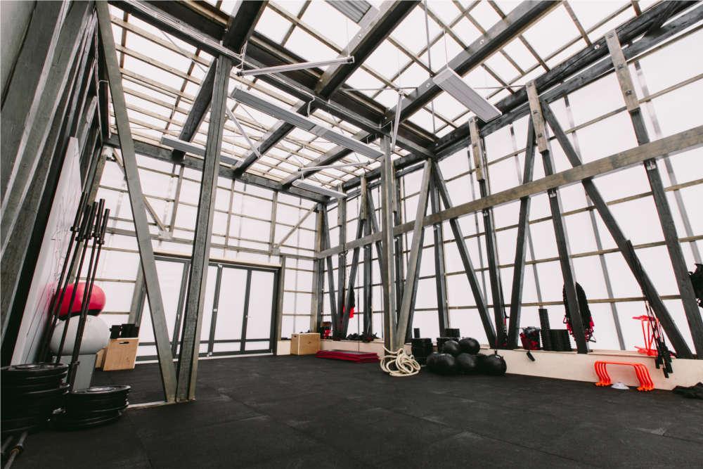 Trainigsräume in der Adidas Runbase Berlin