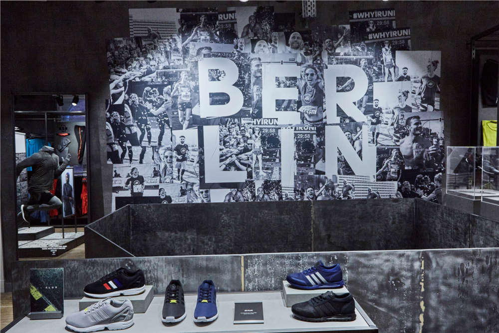 Adidas Running Store in Berlin
