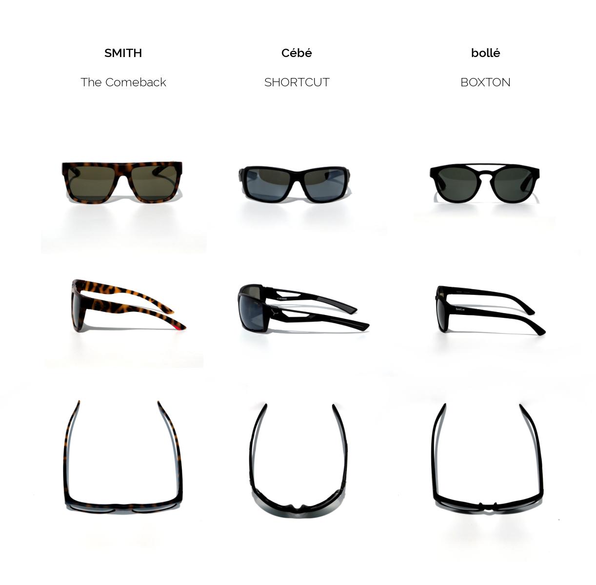 Sonnenbrillen zum Laufen im Vergleich_ Test bolle cebe smith